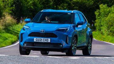 Toyota Yaris Cross front 3/4 cornering
