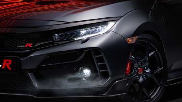 Honda Civic Type R Sport Line front detail