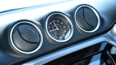 A driving mode selector lets you change the transmission settings of four-wheel-drive versions