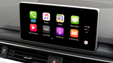 Smartphone connectivity is comprehensive, with Android Auto and Apple CarPlay compatibility