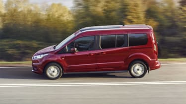 Ford Tourneo Connect MPV driving - side view