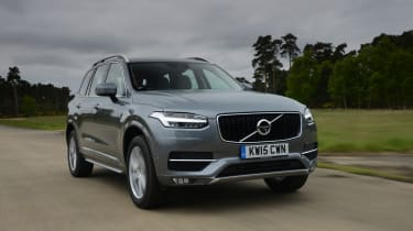 It was the first model to debut Volvo's new design language, with 'Thor's Hammer' LED lights