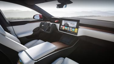 Tesla Model S Plaid - dashboard