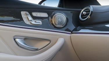 Mercedes-AMG E 63 estate interior detail