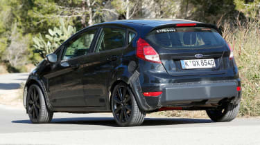 New Ford Fiesta prototypes were disguised to resemble the old model