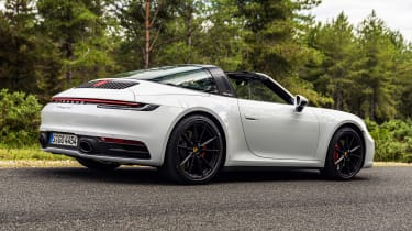 Porsche 911 Targa rear 3/4 static
