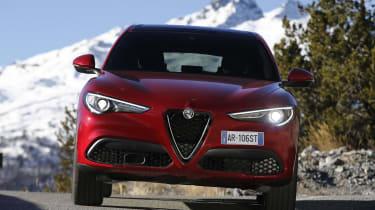 The Alfa Romeo Stelvio is a sharp-handling SUV based on the Giulia saloon