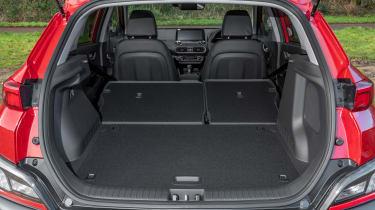 Hyundai Kona Hybrid SUV boot