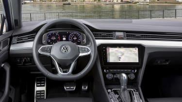Volkswagen Passat Estate R-Line steering wheel