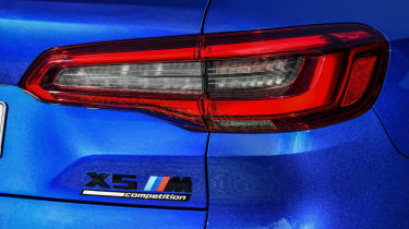 BMW X5 M Competition tail-light