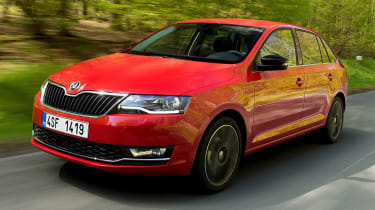 The Skoda Rapid Spaceback is a stylish alternative to the standard model