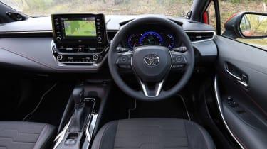 Toyota Corolla Touring Sports estate interior