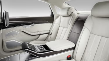 That seat offers massage and heating facilities for your body and feet, as well as advanced connectivity systems