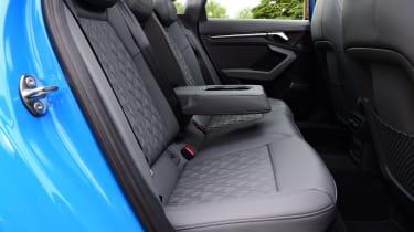 Audi A3 saloon rear seats
