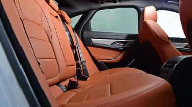Jaguar XF saloon rear seats