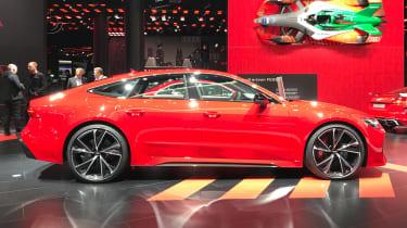 2019 Audi RS7 Sportback - side on view - 2019 Frankfurt Motor Show