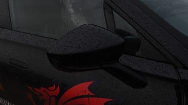 Aston Martin DBX prototype wing mirror