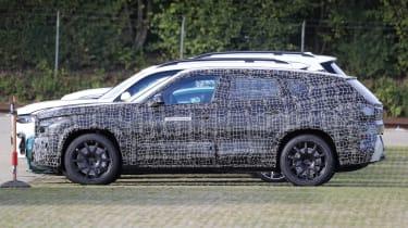 BMW X8 SUV prototype - side view
