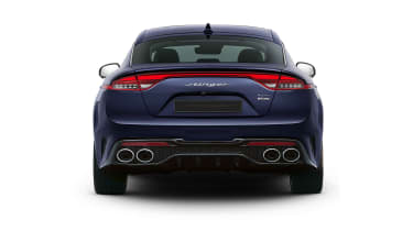 2020 Kia Stinger facelift rear view (not UK specification)
