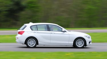 Three-door and five-door (pictured above) bodystyles are available, with the five-door more practical and common
