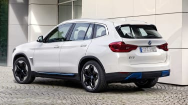 BMW iX3 SUV rear 3/4 static