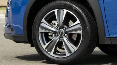 Lexus UX 300e SUV alloy wheels