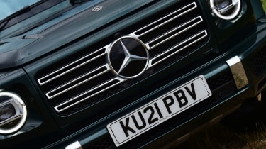 Mercedes G-Class SUV grille