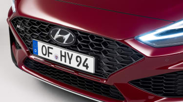 2020 Hyundai i30 N Line grille
