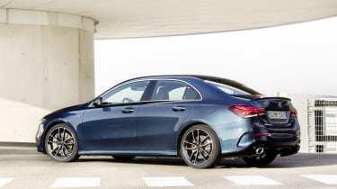 Mercedes-AMG A 35 Saloon rear static