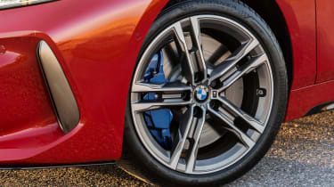 BMW M135i xDrive - wheel and brake caliper