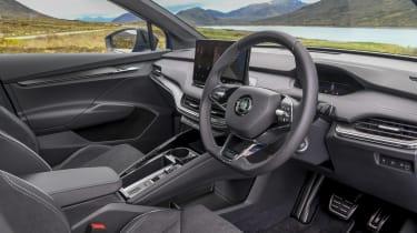 Skoda Enyaq iV 80x - interior