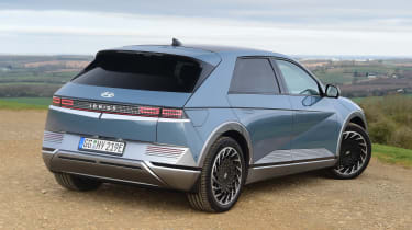 Hyundai Ioniq 5 drive - rear 3/4 static