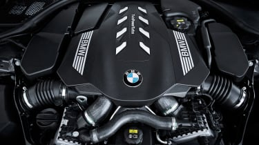 BMW 7 Series saloon engine