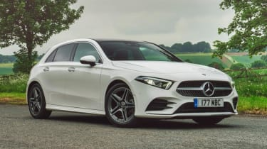 Mercedes A-Class AMG Line - front 3/4 static