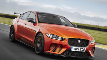 The SVO Jaguar XE SV Project 8 is the most radical Jaguar saloon, ever.