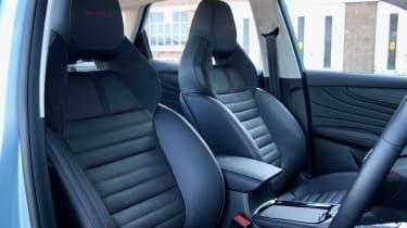 2020 MG HS plug-in hybrid seats