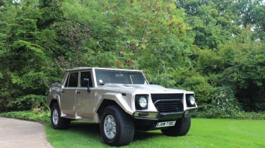 With economy of around 11mpg (if you're lucky) the Lamborghini LM002 is one of the least efficient cars ever made