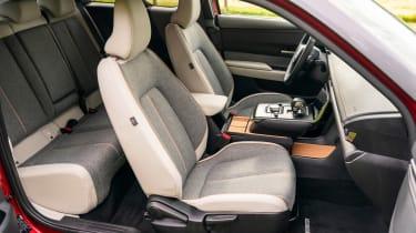 Mazda MX-30 SUV front seats