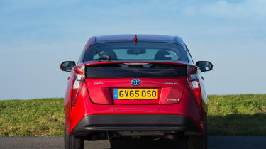 The Prius plug-in hybrid is available with a solar roof that can put range back into the battery pack