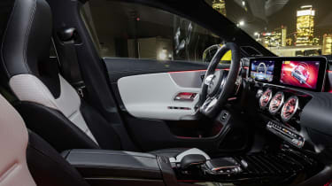 Mercedes-AMG CLA 35  interior side view