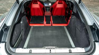 Porsche Panamera hatchback boot