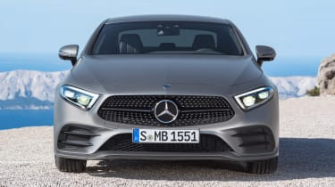 The CLS comes loaded with safety kit, including autonomous emergency braking