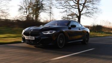 BMW 840d front