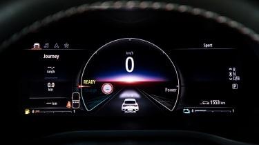 Renault Arkana SUV digital instruments