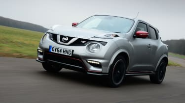 Nissan Juke Nismo RS - front 3/4 view