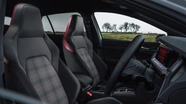 Volkswagen Golf GTI hatchback front seats