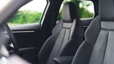 Audi A3 Sportback hatchback front seats