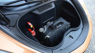 McLaren GT front storage area