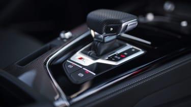 Audi S5 Coupe gear selector