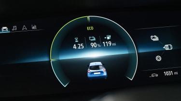 Renault ZOE - digital instrument cluster